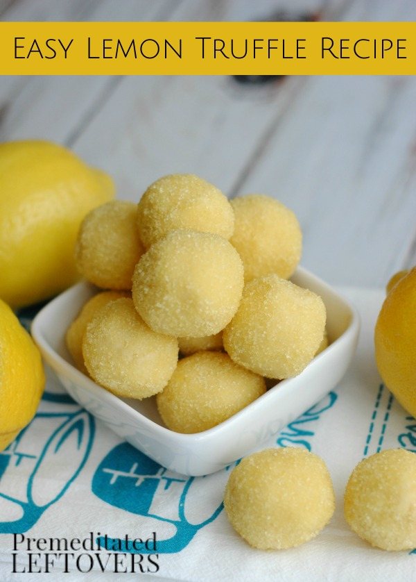 Lemon Truffles